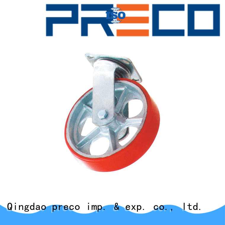 PRECO body rubber wheels manufacturers for Scaffold