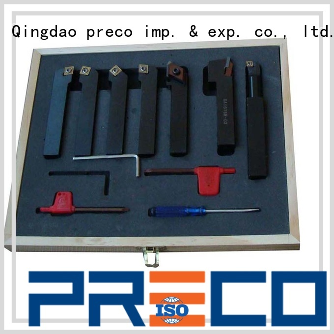 PRECO carbide indexable lathe tools supply for wood turing