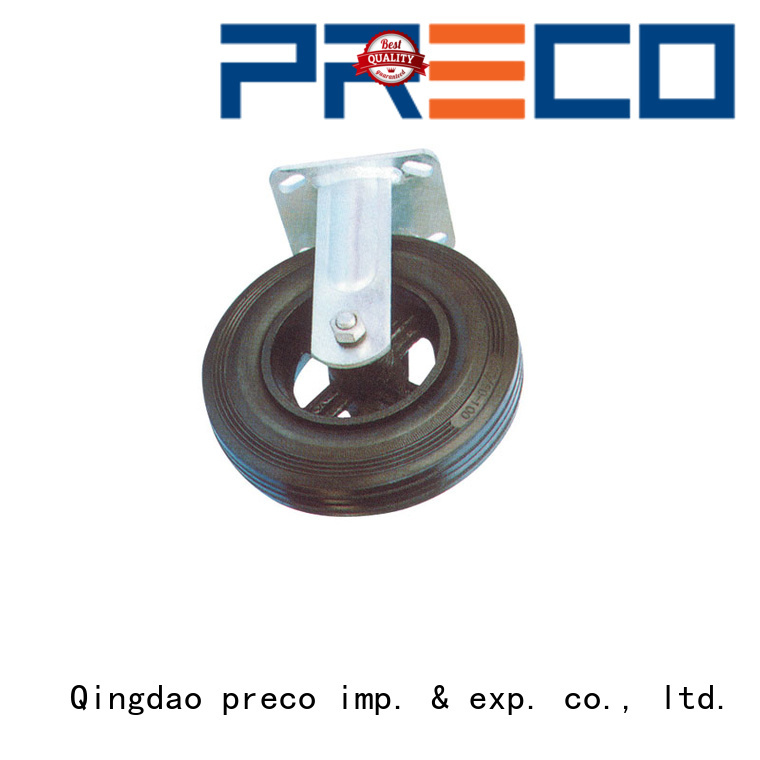 PRECO rubber pneumatic caster wheels quick transaction For Furniture Wheels