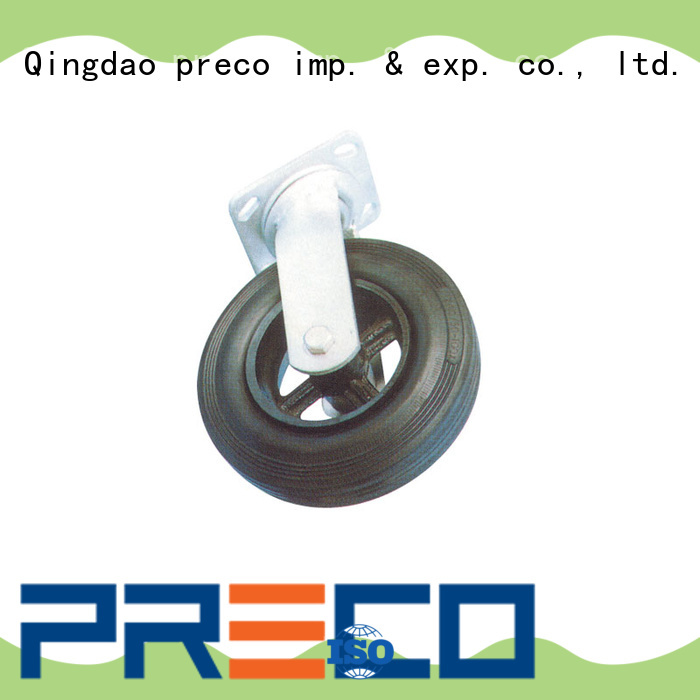 best quality rubber caster wheels heavy duty polyamid For Furniture Wheels