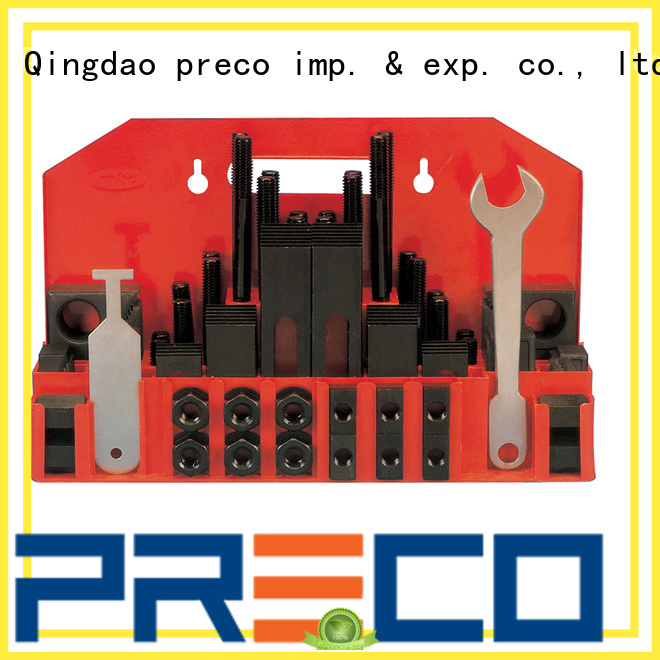PRECO t slot clamping kit for business