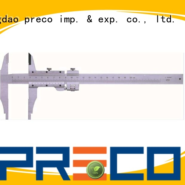 PRECO low cost vernier measurement for car