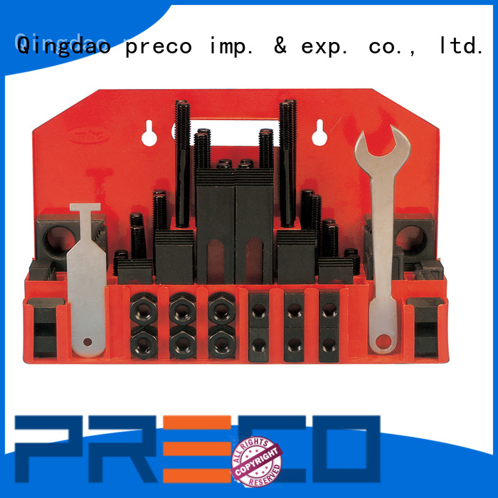 sophisticated milling machine clamp set kits export wordwide for factory