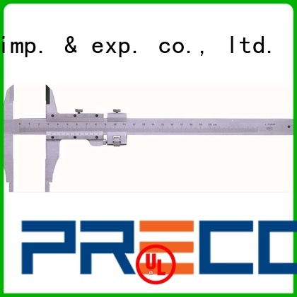 PRECO vernier instruments manufacturers for inside