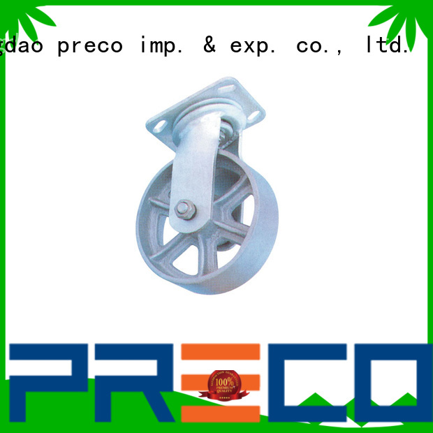 PRECO safety large casters manufacturers for car