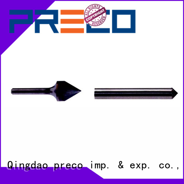 PRECO eoval carbide grinding burrs suppliers for cutting metal