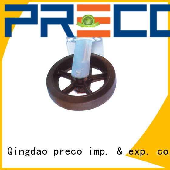 PRECO safety heavy duty industrial casters pu for car