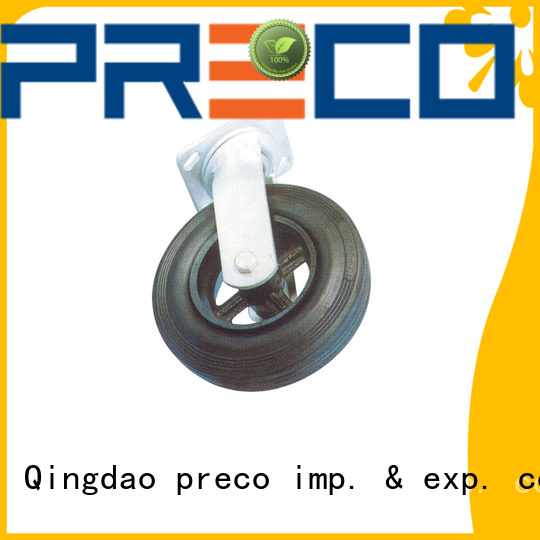 PRECO wheels heavy duty swivel casters for car