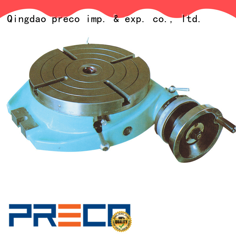 PRECO best vertical rotary table simple for water drill