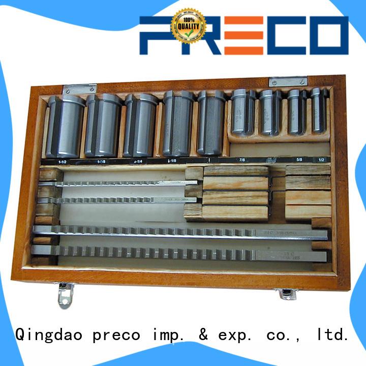 PRECO broach keyway broaching tool For Furniture Wheels