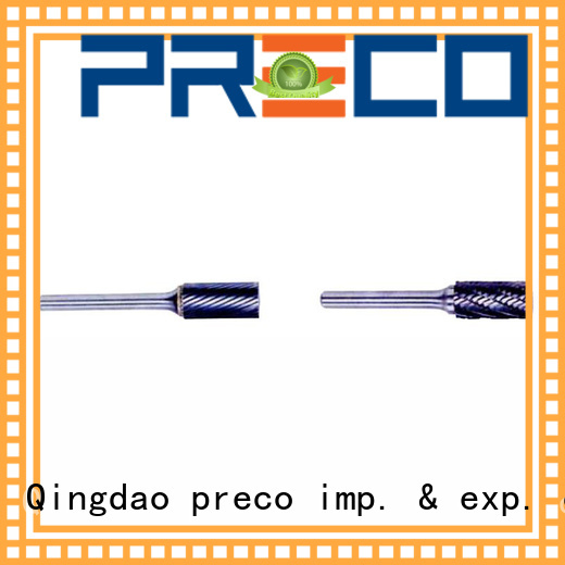 PRECO accurate carbide rotary burr for cutting metal