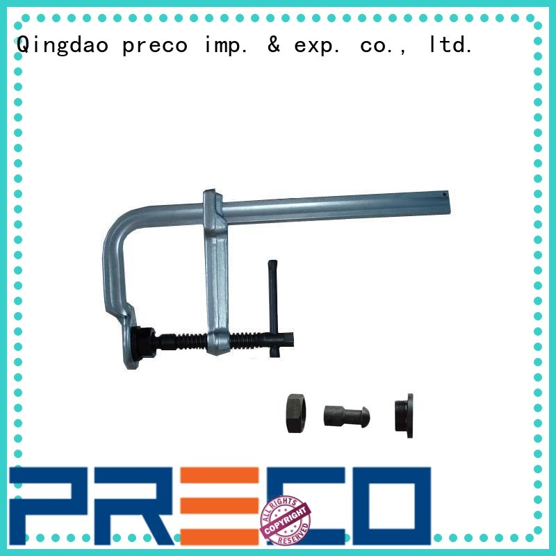 PRECO clamp C clamps company for machining operation