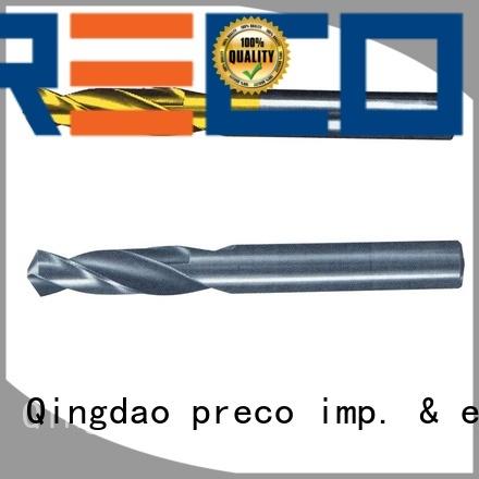 PRECO custom drill bits long shank for outside