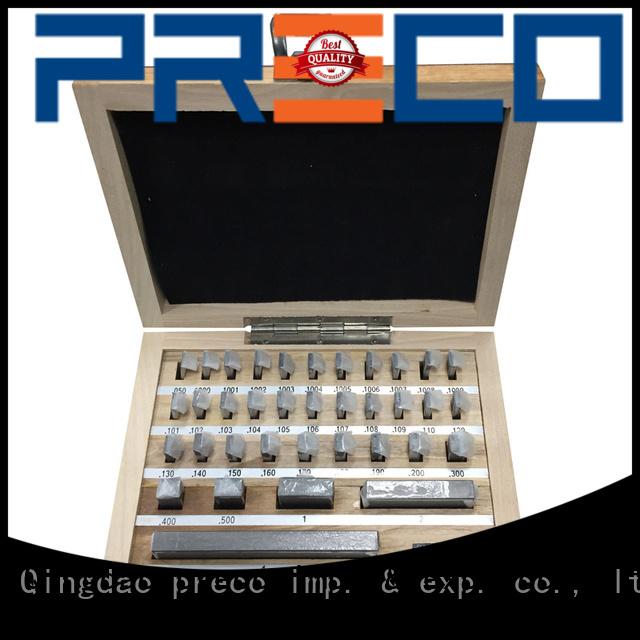 PRECO Metric carbide gage blocks request for quote for Caliper