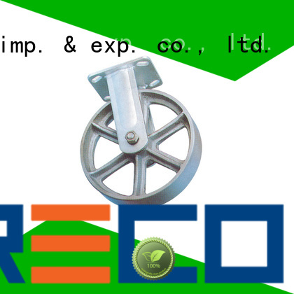 new rubber caster wheels steel trader for car