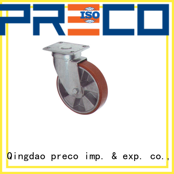 PRECO best quality industrial caster wheels manufacturer for car