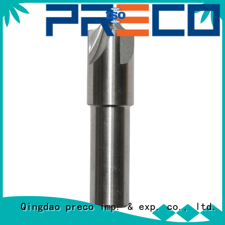 PRECO end cnc router end mills factory for metal cutting