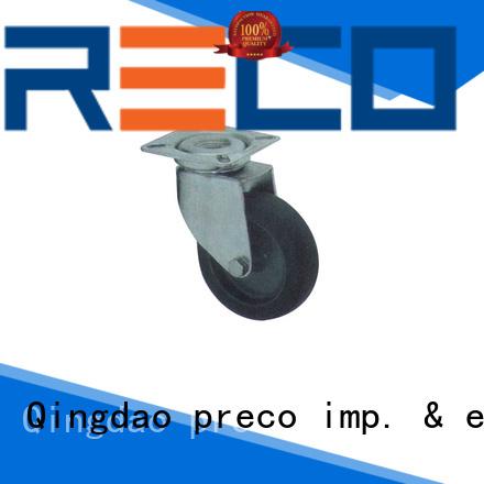 PRECO stable supply pu caster wheel swivel for Scaffold