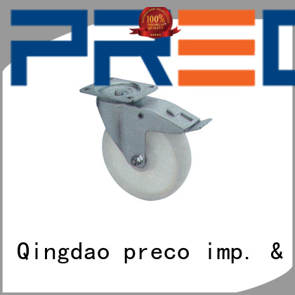 PRECO trolley heavy duty steel casters manufacturers for car