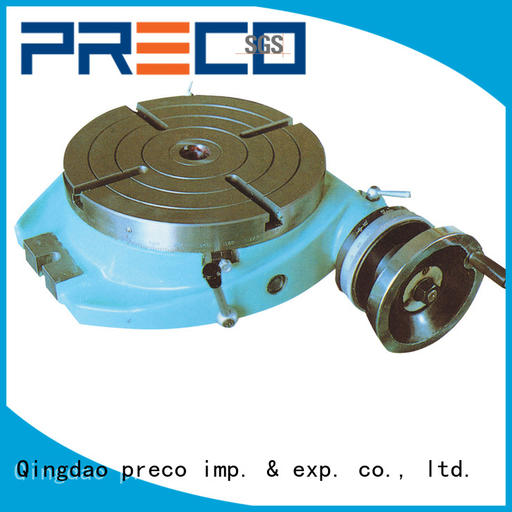 PRECO table rotary table hot sale for milling machine