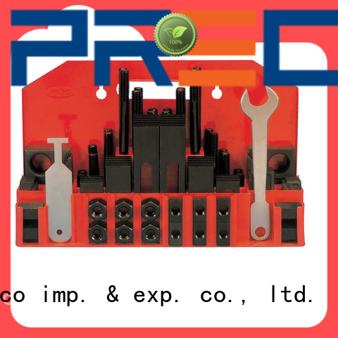 PRECO sophisticated t slot clamping kit