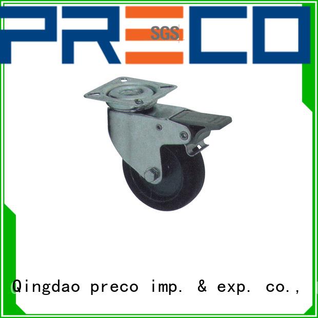 PRECO nylon rubber wheels factory for Scaffold