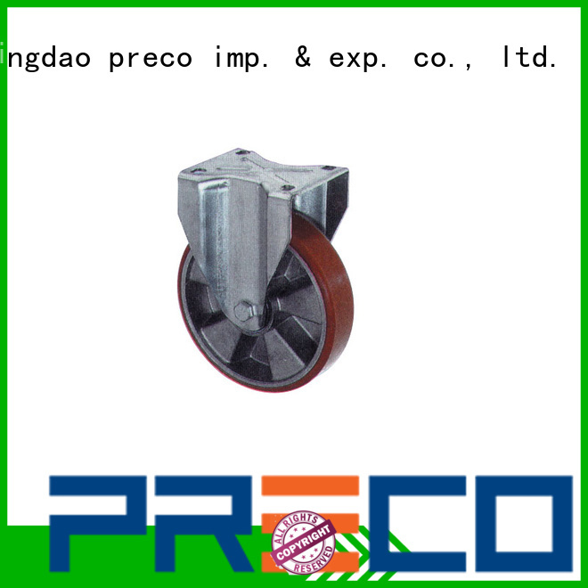 PRECO hot recommended rubber caster wheels supply For Furniture Wheels