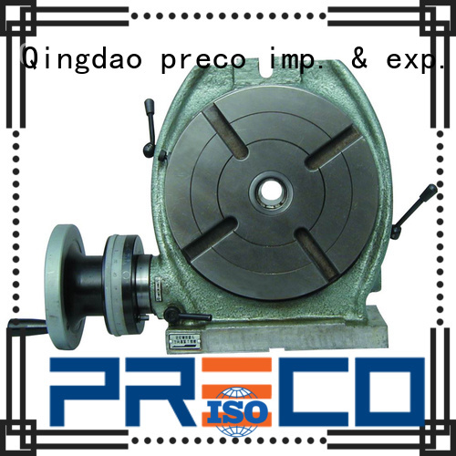 PRECO horizontal vertical rotary table wholesale for milling machine