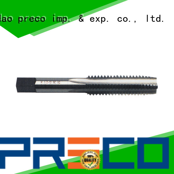PRECO top large diameter taps for factory