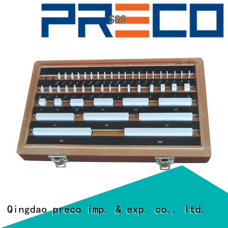 PRECO High Precision master gage blocks gage for workshop