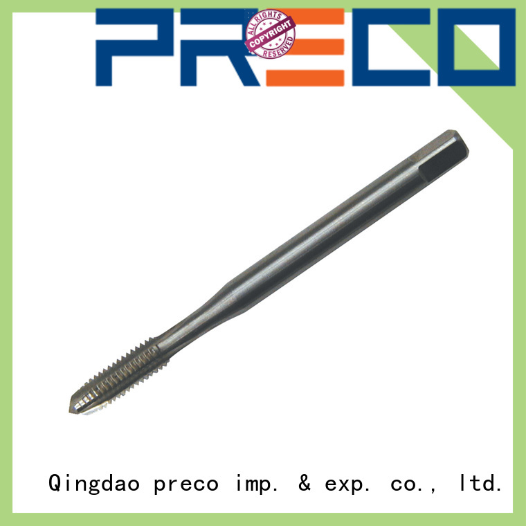 PRECO top 2 flute tap set suppliers for workshop