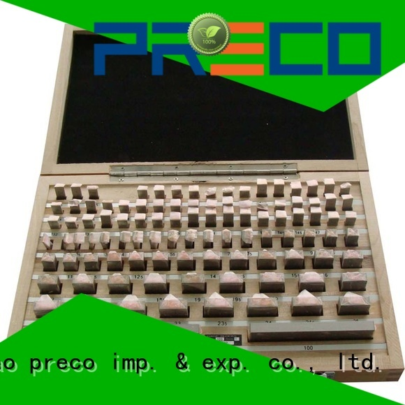 PRECO best gage blocks request for quote for workshop