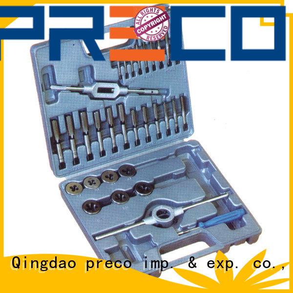 PRECO Factory price factory supply tap and die kit export worldwide for factory