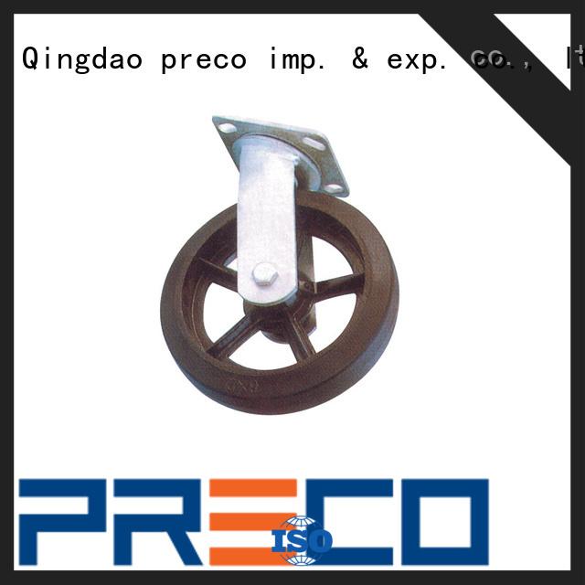 PRECO safety trolley wheels supply for car