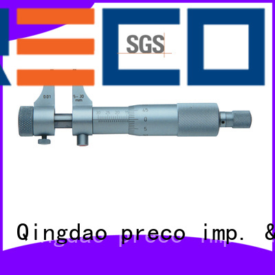 PRECO inside inside groove micrometer factory for mechanical