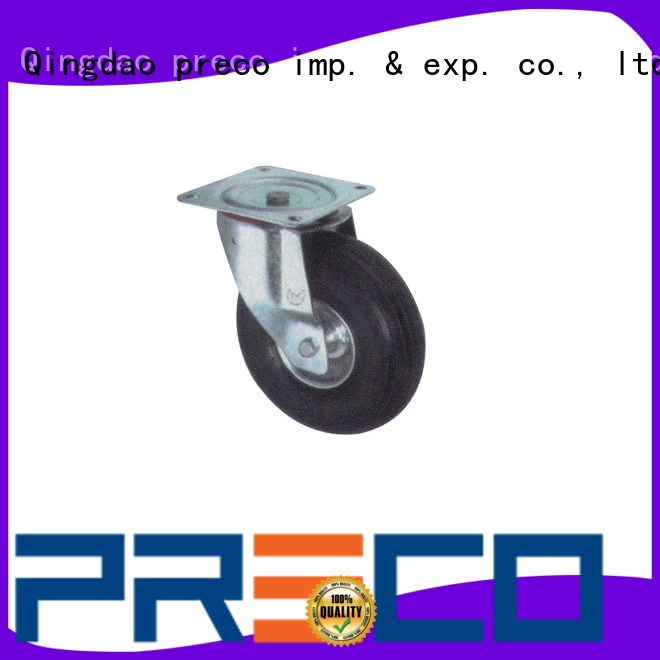 PRECO temperatureresistant trolley wheels quick transaction For Furniture Wheels