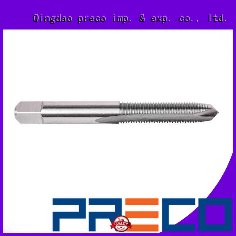 PRECO high-quality bottoming tap dimensions factory for machine