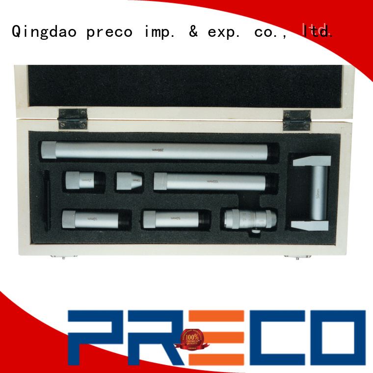 PRECO inside groove micrometer company engineering