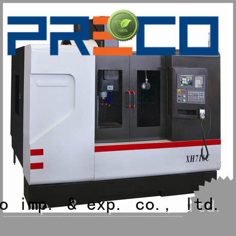 PRECO hot-sale cnc vertical milling machine China manufacturer for automotive industry