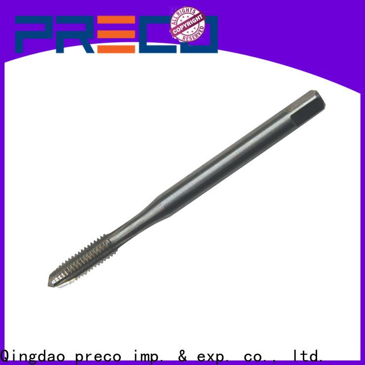 PRECO left hand thread tap for machine