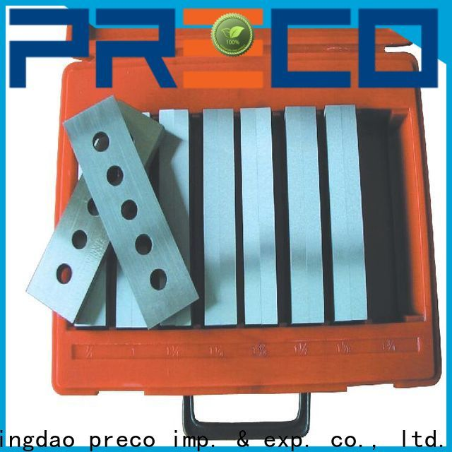 PRECO precision parallels suppliers for Hold Down Set Up