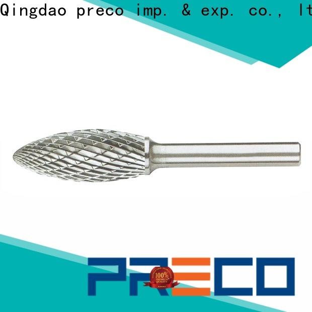 PRECO wholesale tungsten carbide burrs dremel inquire now for work piece drilling