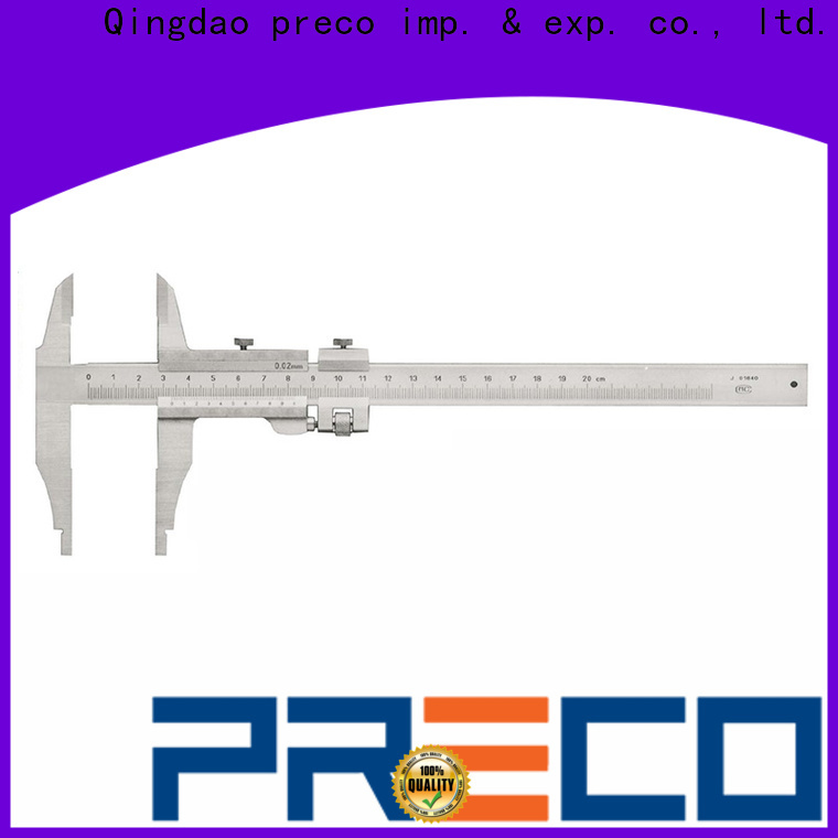 PRECO custom vernier depth gauge factory for car