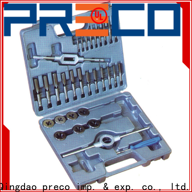 PRECO dies tap thread set manufacturers for factory