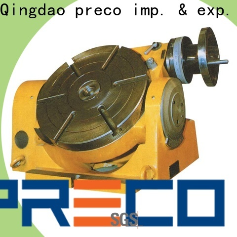 PRECO top vertical rotary table supply for milling machine