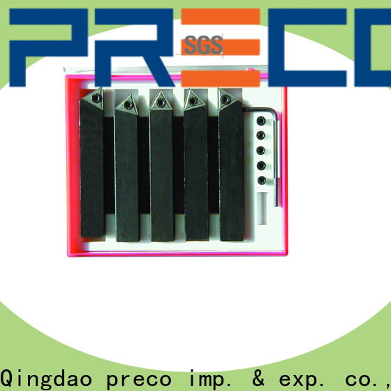 PRECO metric carbide lathe tools company for wooding working