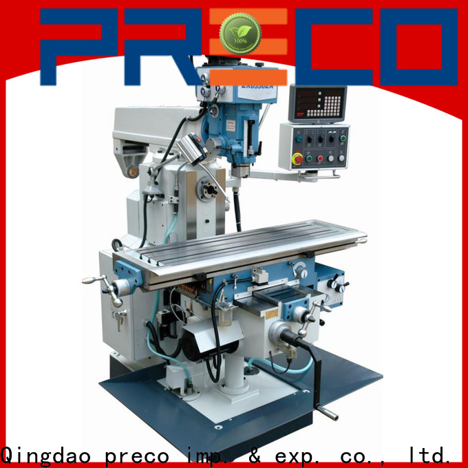 PRECO new metal milling machine online for factory