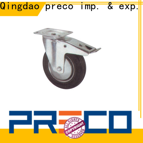 PRECO steel heavy duty swivel casters chinese manufacturer For Furniture Wheels