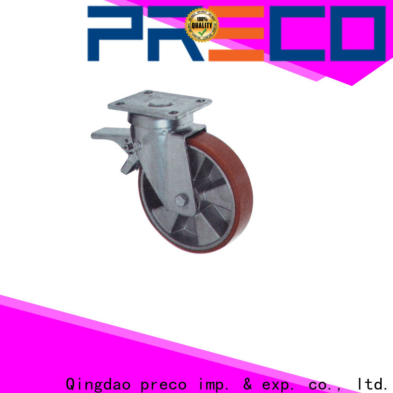 PRECO natural industrial casters suppliers For Hospital