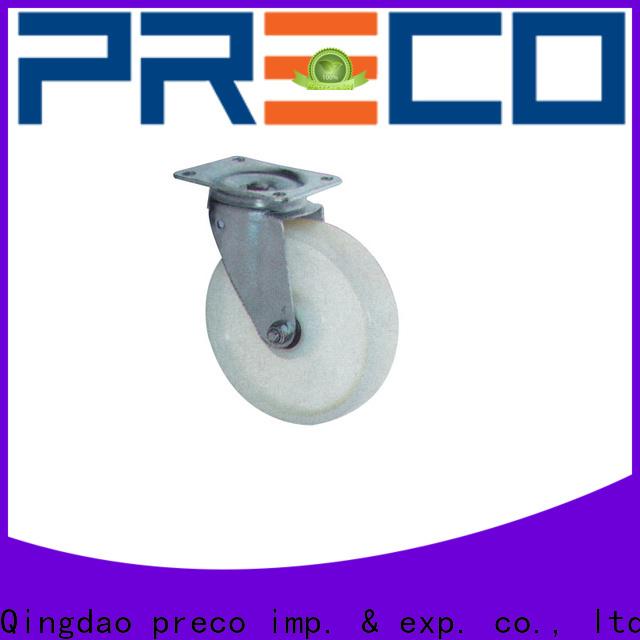PRECO polypropylen pneumatic casters company For Hospital